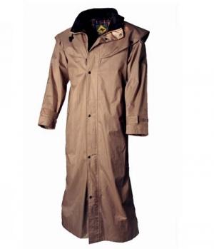 Australian Fashion Regenmantel ungefüttert Stockman Coat