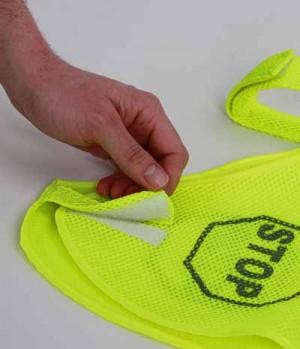 Reflex Hundeweste Mesh-Material mit Klet