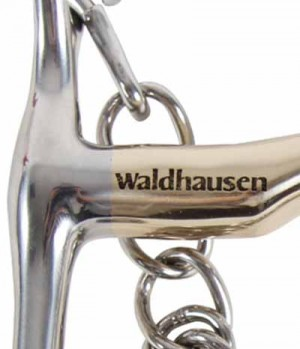 Waldhausen Kandare Cyprium Silver massiv