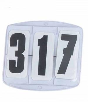 Busse Startnummern mit Klett (10)