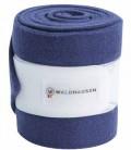 Waldhausen Bandagen Fleece Esperia 4er Set - blau creme