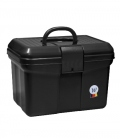 Waldhausen Putzbox aus robustem Kunststoff - schwarz