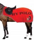 HV Polo Pausendecke Fleece Favouritas SP - flamebraun