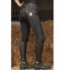 HKM Reithose Damen Jeans Miss Blink Sale - schwarz