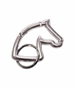 Happy Ross Schlüsselanhänger Pferdekopf Karabiner-