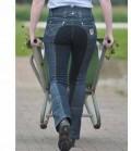 HKM Jodphurhose Damen Jeans Miss Blink GB - jeansblau