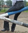 HKM Jodphurhose Damen Jeans Miss Blink GB - schwarz