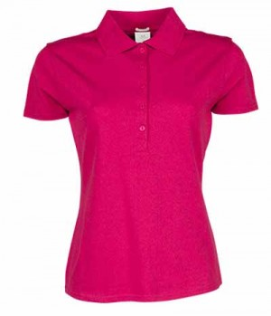Textil Polo Shirt Damen Stretch Preishit