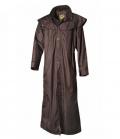 Australian Fashion Regenmantel ungefüttert Stockman Coat - braun