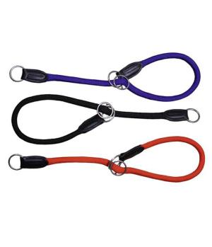 Hundehalsband Nylon rund verstellbar