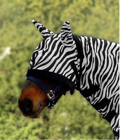 Waldhausen Fliegenmaske Zebra weich