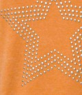 Pikeur Sweat Shirt Damen Sophie mit Stern Sale - orange