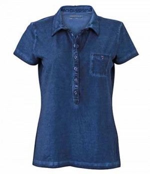 Textil Polo Shirt Damen James+Nicholson Gipsy