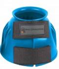 Waldhausen Glocken Gummi gerippt m.Klett - azurblau