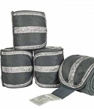 HKM Bandagen Fleece Arctic Lurex verziert SP