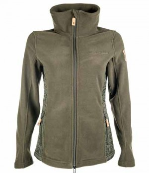 HKM Jacke Fleece Paris Materialmix SP