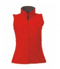 Textil Weste Softshell  Women - rot