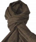Esperado Schal Winter flauschig uni SP9,50 - brown