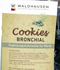 Waldhausen Leckerli Cookies Bronchial *** - Bronchial