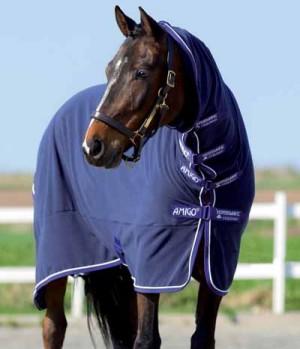 Horseware Abschwitzdecke AmigoPlus m.Halsteil