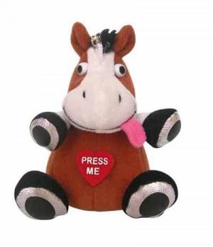 HKM Schlüsselanhänger Pferdchen lacht