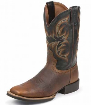 Justin Westernstiefel Justin Boots Buffalo Men