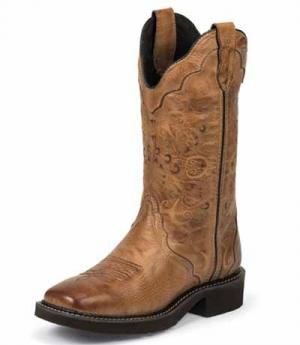 Justin Westernstiefel Justin Boots Cow