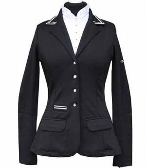 Spooks Turnierjacke Damen Stripes figurbetont