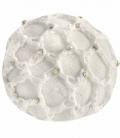 Waldhausen Haarnetz mit Glitzersteinen - weiß