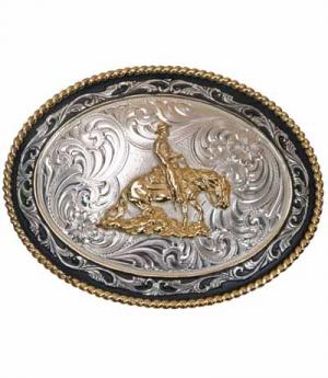 Buckle Slidinghorse Montana silver