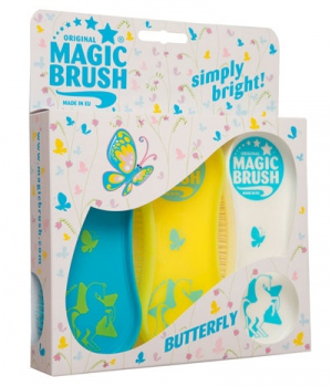 Kerbl Bürste Magic Brush 3-er Set