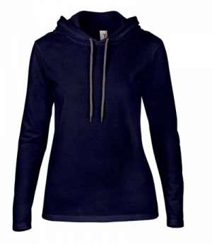 Textil Shirt langarm sehr leicht mit Kapuze SP
