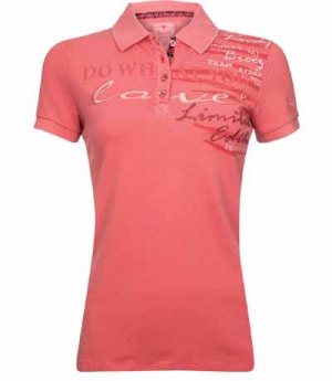 Imperial Riding Polo Shirt Hello Sunshine washed FS16 SP