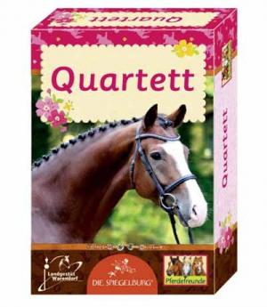 Karten Quartett Pferdefreunde