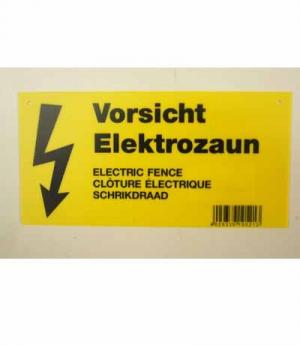 Göbel Warnschild Elektrozaun