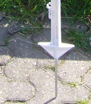 Göbel Weidepfahl Kunstoff Glasfaser verstärkt