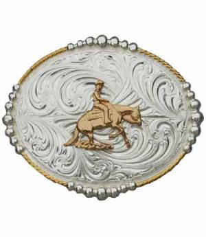 Westernwelt Buckle Reining oval