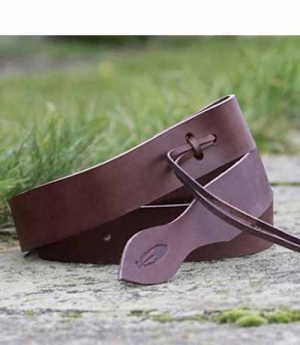Barefoot Tie-Strap Latigo Leder