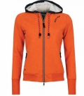 Euro-Star Sweat Jacke Damen Gemmy m.Teddy - 291pumpkin