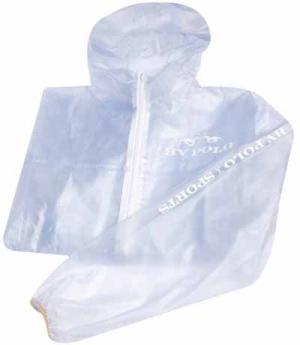HV Polo Jacke Raincoat Transparent