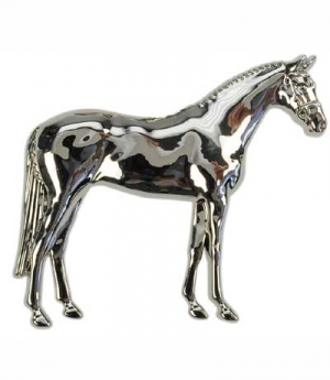 Happy Ross Plastronnadel stehendes Pferd