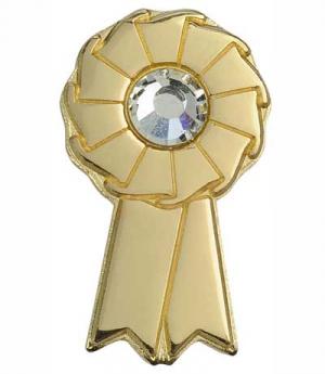 Happy Ross Plastronnadel Goldschleife