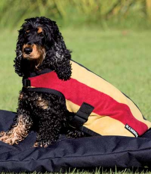 Hundedecke Rambo Fleece stripes