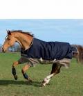 Horseware Turnoutdecke Amigo Mio 200g 600D (5) - navy-tan