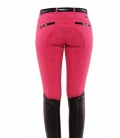 Spooks Reithose Damen Ricarda Full Grip Sequin - pink