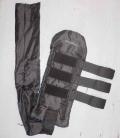 Bieman de Haas Schweifschoner lang 2-teilig - schwarz