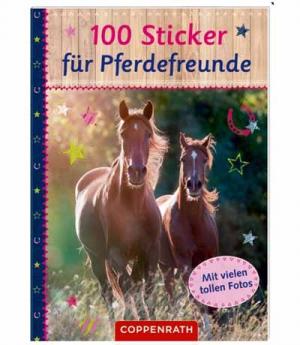 Sticker 100 Sticker Pferdefreunde ausver