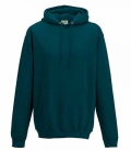 Textil Hooded Sweat Shirt Unisex College - petrol/sea