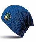 Textil Mütze Beanie Super Soft - azurblau
