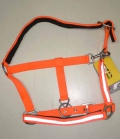HKM Nylonhafter mit Reflexband Brasilia - orange